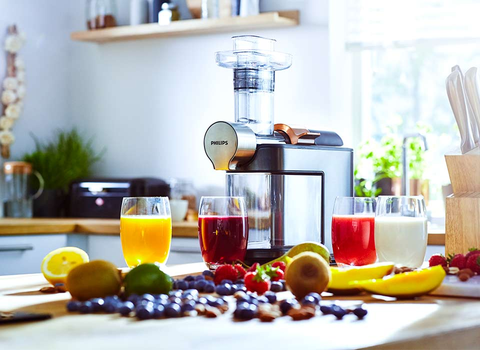 Philips slow juicer HR1947