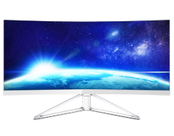 "32"" Curved monitor with Ultra Wide-Color"